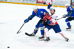URBAS Jan (SLO) during OI pre-qualifications of Group G between Slovenia men's national ice hockey team and Croatia men's national ice hockey team, on February 7, 2020 in Ice Arena Podmezakla, Jesenice, Slovenia. Photo by Peter Podobnik / Sportida