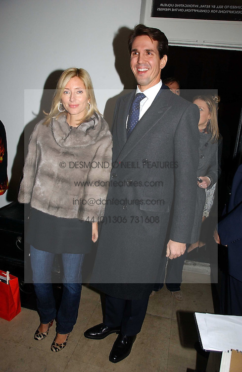 CROWN PRINCE PAVLOS and PRINCESS MARIE CHANTAL OF GREECE at a party to celebrate the launch of India Hick's 'Island Living' range of frangrance and beauty products in association with Crabtree & Evelyn held at The Hempel, Craven Hill Gardens, London on 22nd November 2006.<br /><br />NON EXCLUSIVE - WORLD RIGHTS