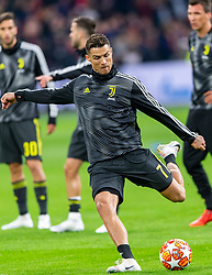 10-04-2019 NED: Champions League AFC Ajax - Juventus,  Amsterdam<br /> Round of 8, 1st leg / Ajax plays the first match 1-1 against Juventus during the UEFA Champions League first leg quarter-final football match / Cristiano Ronaldo #7 of Juventus