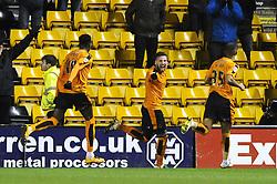 Matt Doherty of Wolverhampton Wanderers celebrates his late goal which makes it 2-1 - Mandatory byline: Dougie Allward/JMP - 08/03/2016 - FOOTBALL - Molineux Stadium - Wolverhampton, England - Wolves v Bristol City - Sky Bet Championship