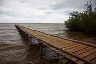Dock in Playa La Mulata, Pinar del Rio, Cuba.