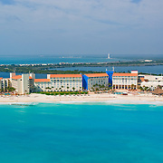 Aerial View of the Westin Hotel.<br />