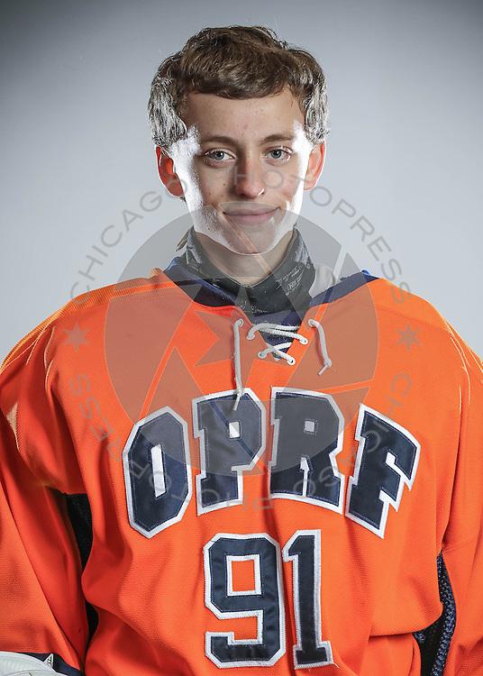 2014 OPRF Huskies Junior Varsity hockey photo day.
