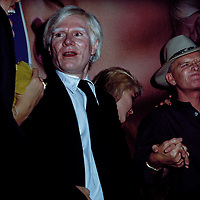 Andy Warhol, Deborah Harry, Truman Capote at Studio 54, New York, NY