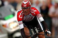 Sykkel<br /> Tour de France 2003<br /> Prolog Paris 05.07.2003<br /> Tyler Hamilton - USA - Team  CSC<br /> Foto: Digitalsport