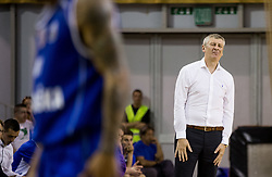 Damjan Novakovic, coach of Rogaska reacts during basketball match between KK Union Olimpija and KK Rogaska in 2nd Final game of Liga Nova KBM za prvaka 2016/17, on May 19, 2017 in Hala Tivoli, Ljubljana, Slovenia. Photo by Vid Ponikvar / Sportida