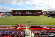 The County Ground during the Sky Bet League 1 match between Swindon Town and Crawley Town at the County Ground, Swindon, England on 21 February 2015. Photo by Shane Healey.