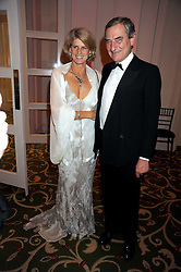 Horse racing figures LUCA & SARA CUMANI at the annual Cartier Racing Awards held at the Grosvenor House Hotel, Park Lane, London on 17th November 2008.