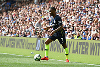 BRIGHTON, ENGLAND - MAY 12:  Raheem Sterling (7) of Manchester City during the Premier League match between Brighton & Hove Albion and Manchester City at American Express Community Stadium on May 12, 2019 in Brighton, United Kingdom. (MB Media)