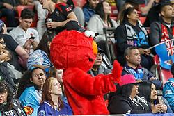 March 9, 2019 - Vancouver, BC, U.S. - VANCOUVER, BC - MARCH 09: Elmo showed up at the Canada Sevens held March 9-10, 2019 at BC Place Stadium in Vancouver, BC, Canada. (Photo by Allan Hamilton/Icon Sportswire) (Credit Image: © Allan Hamilton/Icon SMI via ZUMA Press)
