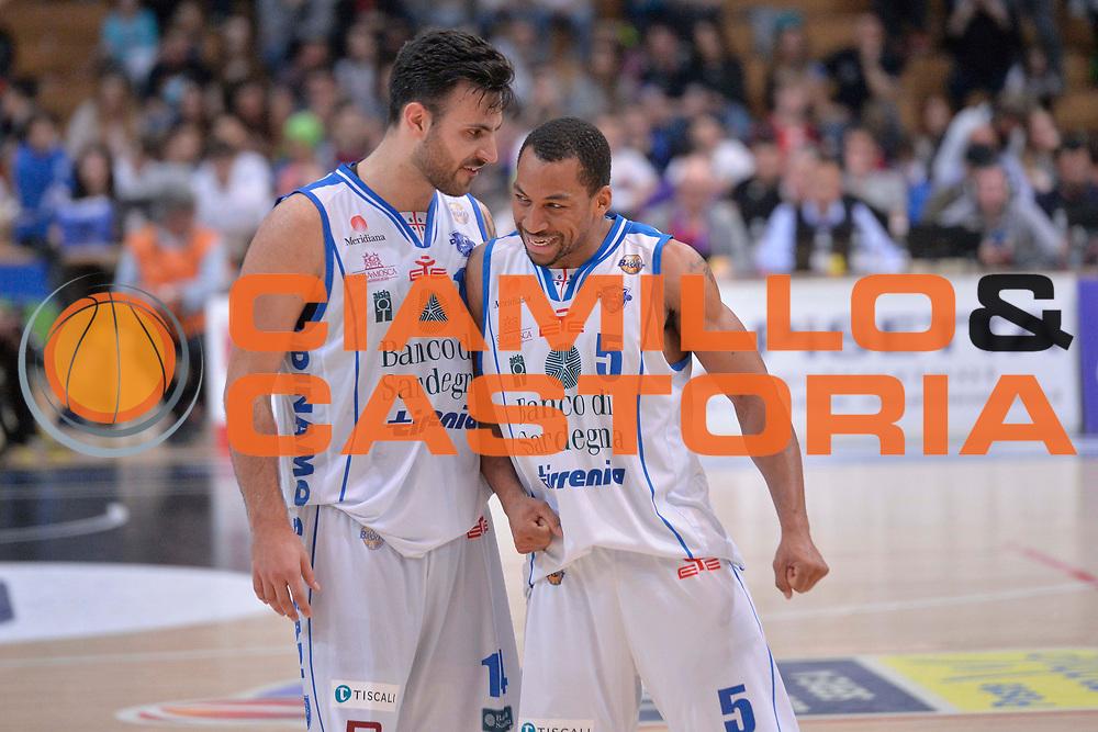 Brian Sacchetti, David Bell<br /> Dolomiti Energia Aquila Basket Trento - Banco di Sardegna Dinamo Sassari<br /> Lega Basket Serie A 2016/2017<br /> Trento, 08/04/2017<br /> Foto Ciamillo - Castoria