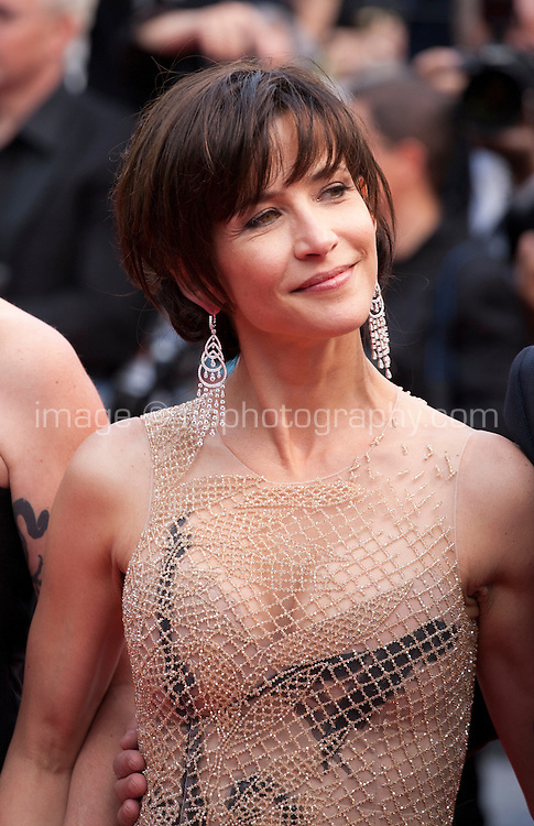 Sophie Marceau at the Closing ceremony and premiere of La Glace Et Le Ciel at the 68th Cannes Film Festival, Sunday 24th May 2015, Cannes, France.