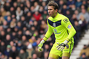 Birmingham City FC goalkeeper Tomasz Kuszczak during the Sky Bet Championship match between Derby County and Birmingham City at the iPro Stadium, Derby, England on 16 January 2016. Photo by Aaron Lupton.