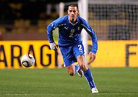 Fussball International, Italienische Nationalmannschaft  Italien - Kamerun 03.03.2010 Leonardo Bonucci(ITA)