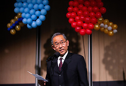 H.E. Mr. Masaharu Yoshida during Closing ceremony at Day 4 of 16th Slovenia Open - Thermana Lasko 2019 Table Tennis for the Disabled, on May 11, 2019, in Thermana Lasko, Lasko, Slovenia. Photo by Vid Ponikvar / Sportida