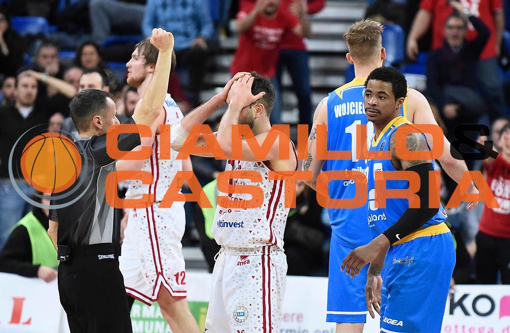 Ceron Marco<br /> Victoria Libertas Pesaro - Betaland Capo d'Orlando<br /> Lega Basket Serie A 2017/2018<br /> Reggio Emilia, 11/03/2018<br /> Foto A.Giberti / Ciamillo - Castoria