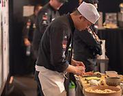 Tino Singharaj au cours de la troisième édition du championnat de France des sushis