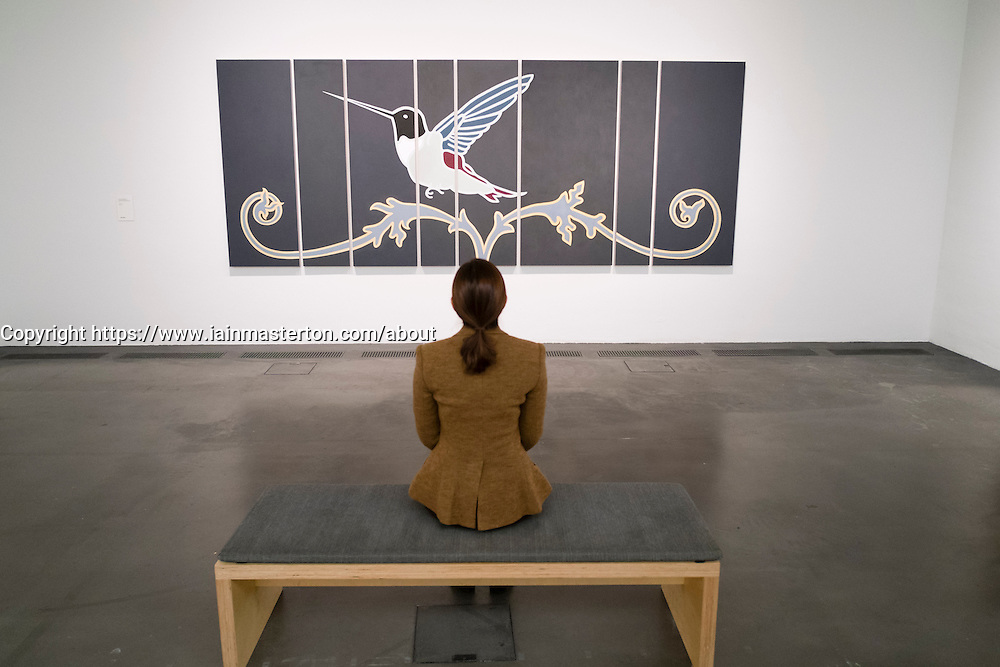 work titled Remember to Forget Everything by Osmo Rauhala at  Kiasma contemporary art museum in Helsinki Finland