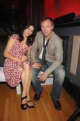 GARY KEMP and his wife LAUREN at the M.A.C. Viva Glam party featuring a performance by Dita Von Teese of 'Lipteese' held at the Bloomsbury Ballroom, Victoria House, Bloomsbury Square, London on 27th June 2007.<br />