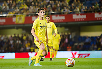 The player of Villarreal Javier Espinosa in action during the match of Uefa Europa League, 3 day. (Photo: Alter Photos / Bouza Press / Maria Jose Segovia)