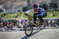 25-29 Men #321 (STRICKLAND Calum) GBR at the 2018 UCI BMX World Championships in Baku, Azerbaijan.