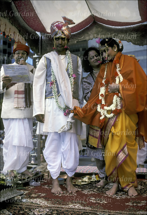 Ethnic Pride - Bride and Groom - Traditional Indian Wedding - Hindu marriage ceremony