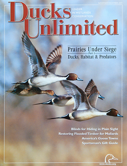 Ducks Unlimited, Nov-Dec 2003