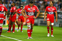 Deception Bryan Habana - 05.06.2015 - Toulon / Stade Francais - 1/2Finale Top 14 -Bordeaux<br />