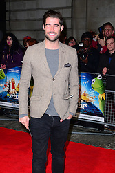 Matt Johnson attends Muppets Most Wanted VIP film screening of sequel to last year's comedy, which sees the return of the Muppets as they embark on a global tour, getting caught up in an international crime caper at Curzon Mayfair, London, United Kingdom. Monday, 24th March 2014. Picture by Nils Jorgensen / i-Images