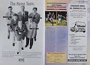 All Ireland Senior Hurling Championship - Final,.01.09.1996, 09.01.1996, 1st September 1996,.01091996AISHCF, .Wexford v Limerick,.Wexford 1-13, Limerick 0-14,.RTE, .Cosgrave Bros Oil Products LTD,