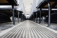 Aisle Between Seats in School Bus