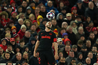 Football - 2019 / 2020 UEFA Champions League - Round of Sixteen, Second Leg: Liverpool (0) vs. Atletico Madrid (1)<br /> <br /> Koke of Atletico Madrid in action during todays match  , at Anfield.<br /> <br /> <br /> COLORSPORT/TERRY DONNELLY