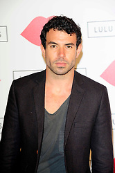 """Lulu Guinness Paint Project.<br /> Tom Cullen attends the """"Lulu Guinness paint project in collaboration with beautiful crime and their artist Joseph Steele"""" Held at the old sorting office, Oxford street,<br /> London, United Kingdom<br /> Thursday, 11th July 2013<br /> Picture by Chris  Joseph / i-Images"""