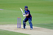 Steven Croft of Lancashire during the Royal London One Day Cup semi-final match between Hampshire County Cricket Club and Lancashire County Cricket Club at the Ageas Bowl, Southampton, United Kingdom on 12 May 2019.