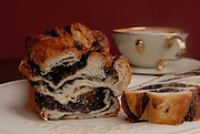 Freshly baked Chocolate yeast cake