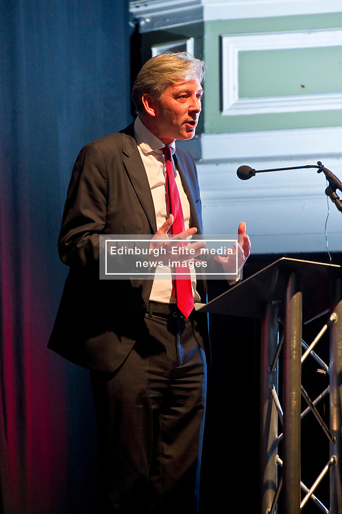 Pictured: Richard Leonard  <br /> <br /> The Scottish Labour leadership candidate Richard Leonard visited Stirling tonight for a rally supported by  members from across the Labour and trades union movement includingMonica Lennon MSP, Neil Findlay MSP, Claudia Beamish MSP, Rhoda Grant MSP, Danielle Rowley MP, Hugh Gaffney MP, and comedian Susan Morrison<br /> <br /> Ger Harley | EEm 30 October 2017