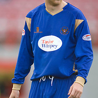 St Johnstone FC 2009-10<br /> Steven Anderson<br /> Picture by Graeme Hart.<br /> Copyright Perthshire Picture Agency<br /> Tel: 01738 623350  Mobile: 07990 594431