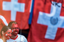 15.06.2016, Parc de Princes, Paris, FRA, UEFA Euro, Frankreich, Rumaenien vs Schweiz, Gruppe A, im Bild Schweizer Fans // Swiss Supporters during Group A match between Romania and Switzerland of the UEFA EURO 2016 France at the Parc de Princes in Paris, France on 2016/06/15. EXPA Pictures © 2016, PhotoCredit: EXPA/ JFK