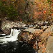 Little Bald River Falls - Autumn - Fall Color