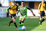 Forest Green Rovers Udoka Godwin-Malife(22) runs forward during the EFL Sky Bet League 2 match between Cambridge United and Forest Green Rovers at the Cambs Glass Stadium, Cambridge, England on 7 September 2019.