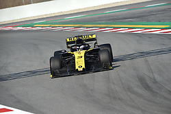 February 21, 2019 - Barcelona, Spain - Australian driver Daniel Ricciardo of French  team Renault F1 Team driving his single-seater RS19 during Barcelona winter test in Catalunya Circuit in Montmelo, Spain  (Credit Image: © Andrea Diodato/NurPhoto via ZUMA Press)