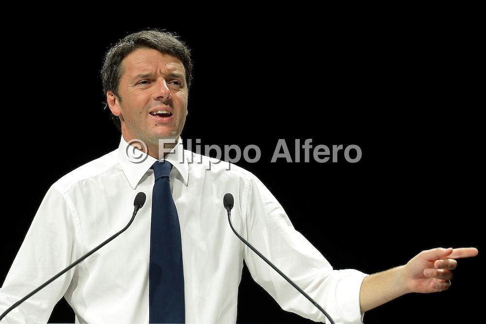 © Filippo Alfero<br /> Matteo Renzi Adesso! al Palaolimpico di Torino per le primarie del Partito Democratico<br /> Torino, 21/10/2012<br /> politica<br /> Nella foto: Matteo Renzi