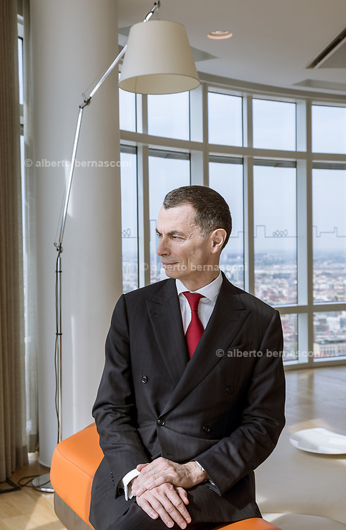 Milan, Unicredit Headquarter, CEO Jean Pierre Mustier