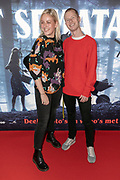 2019, March 28. Pathe ArenA, Amsterdam, the Netherlands. Jules Joan and Bradley Braafhart at the dutch premiere of Pet Sematary.