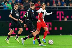 23-11-2019 NED: FC Utrecht - AZ Alkmaar, Utrecht<br /> Round 14 / Vaclav Cerny #32 of FC Utrecht, Oussama Idrissi #11 of AZ Alkmaar