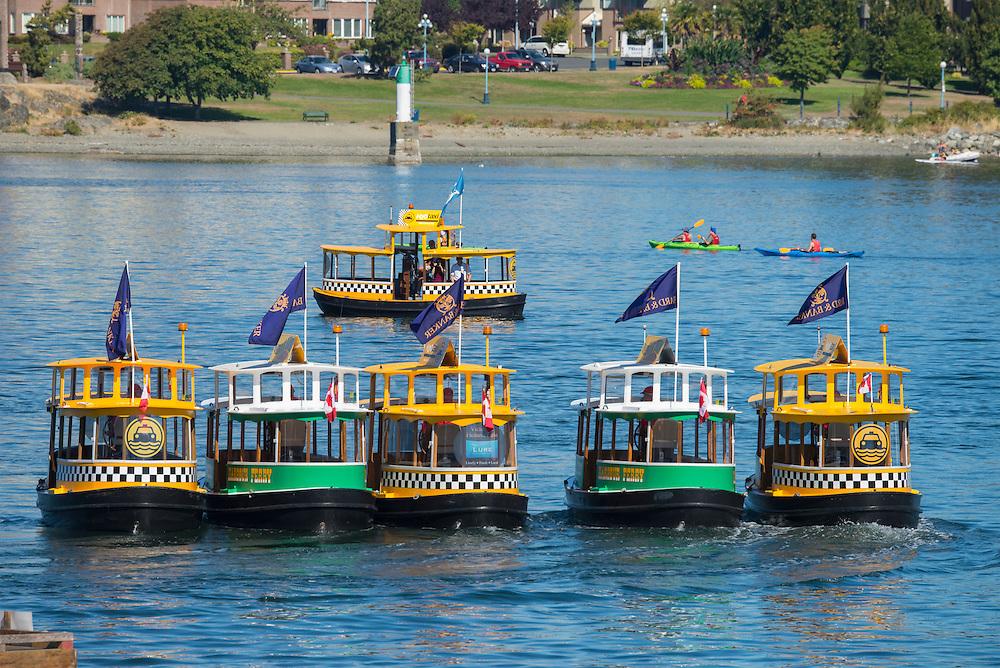 Canada, British Columbia, Vancouver Island, Victoria, water taxi ballet