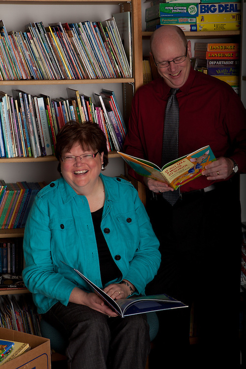 27 April 2011- Connie and Bill Lowdnes are photographed for Physcian's Bulletin.