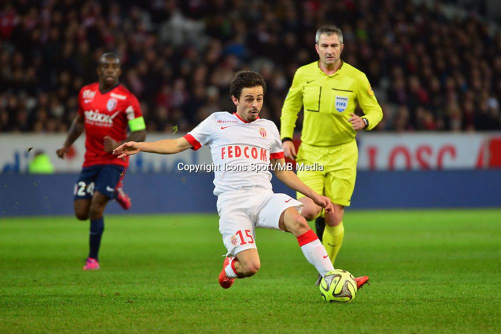 Bernardo SILVA - 24.01.2015 - Lille / Monaco - 22eme journee de Ligue1<br />Photo : Dave Winter / Icon Sport