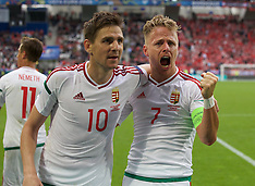 160614 Euro 2016 Day 9 Austria v Hungary