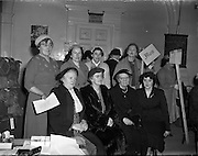 Irish Country Women's Association annual General Meeting at Mansion House.17/04/1958